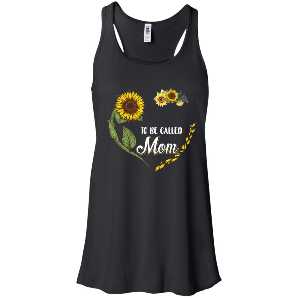 Blessed To Be Called Mom Sunflower Mothers Day Gift Shirt Tank Top