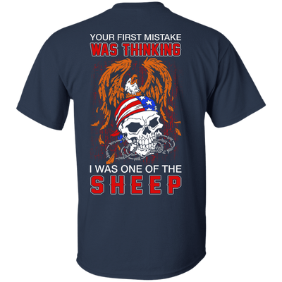 Your First Mistake Was Thinking I Was One Of The Sheep T-Shirt & Hoodie | Teecentury.com