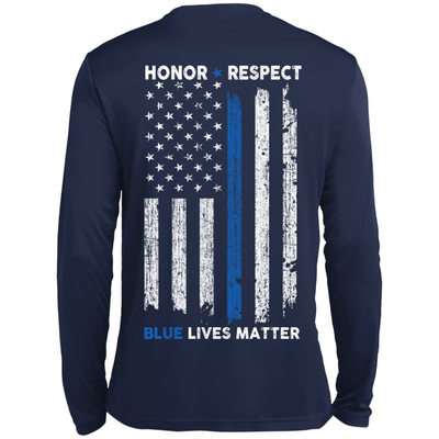 Honor and Respect Police Week T-Shirt & Hoodie | Teecentury.com