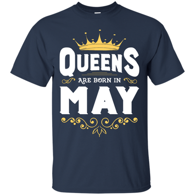 Queens Are Born In May T-Shirt & Hoodie | Teecentury.com
