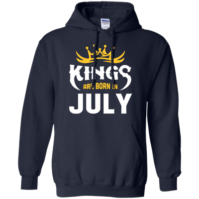 Kings Are Born In July T-Shirt & Hoodie | Teecentury.com