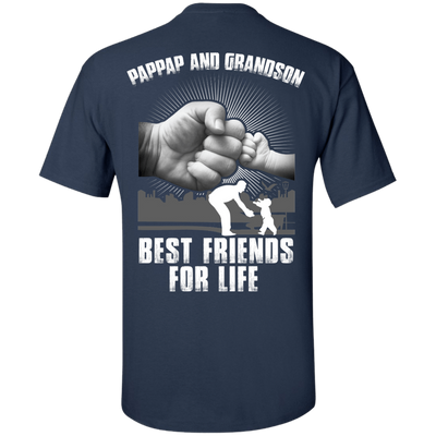 Pappap And Grandson Best Friends For Life T-Shirt & Hoodie | Teecentury.com