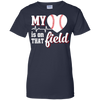 My Heart Is On That Field Baseball T-Shirt & Hoodie | Teecentury.com