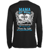My Mama My Hero My Guardian Angel She Watches Over My Back T-Shirt & Hoodie | Teecentury.com