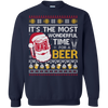 It's The Most Wonderful Time For A Beer Sweater T-Shirt & Hoodie | Teecentury.com