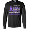 I Don't Look Sick Migraine Awareness T-Shirt & Hoodie | Teecentury.com