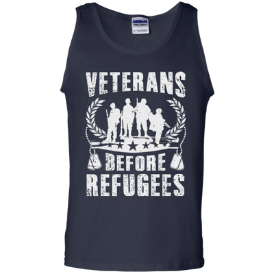VETERANS BEFORE REFUGEES T-Shirt & Hoodie | Teecentury.com
