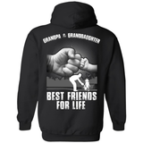 Grandpa And Granddaughter Best Friends For Life T-Shirt & Hoodie | Teecentury.com