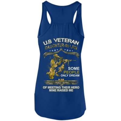 U.S. Veteran Daughter-in-law Some People Only Dream Of Meeting T-Shirt & Hoodie | Teecentury.com