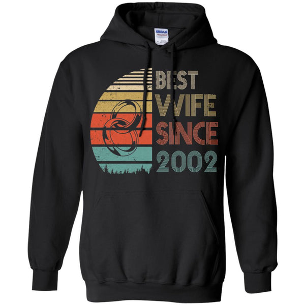 17th Anniversary Gift For Wife: 17th Wedding Anniversary Gifts Best Wife Since 2002 Shirt