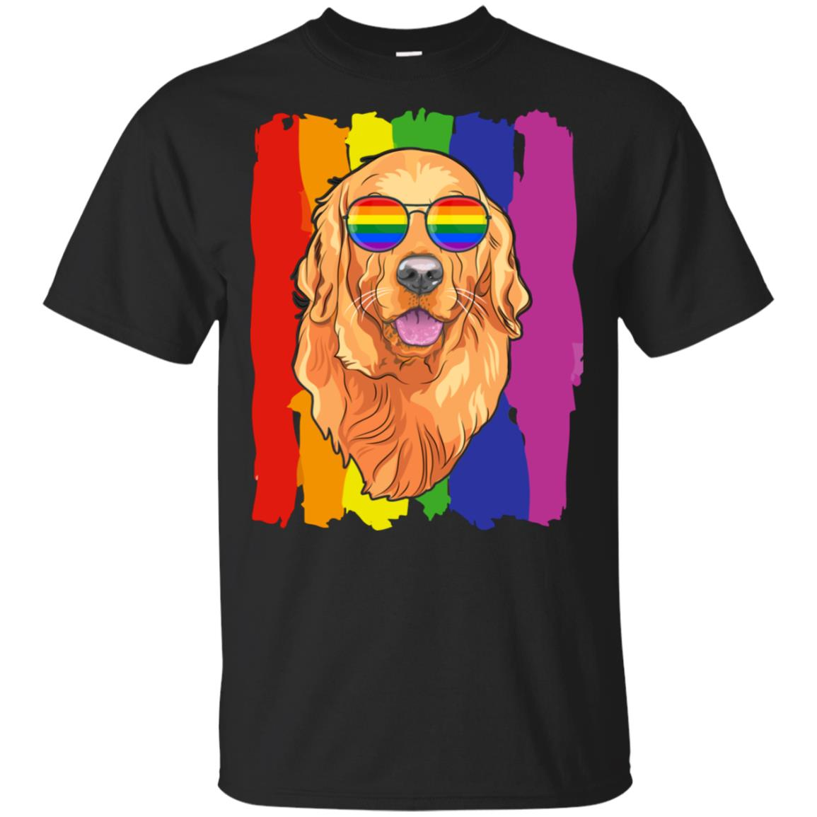 Funny Retrievers Golden LGBT LGBT Pride Gifts