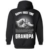 HAPPY FIRST TIME Grandpa T-Shirt & Hoodie | Teecentury.com
