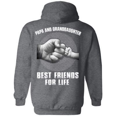 Papa And Granddaughter Best Friends For Life T-Shirt & Hoodie | Teecentury.com