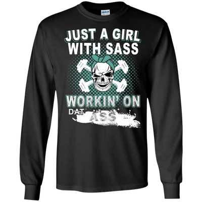 JUST A GIRL WITH SASS T-Shirt & Hoodie | Teecentury.com