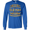 Never Underestimate An Old Man Who Was Born In December T-Shirt & Hoodie | Teecentury.com
