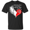 Wife Half My Heart Is In Heaven With My Angel T-Shirt & Hoodie | Teecentury.com
