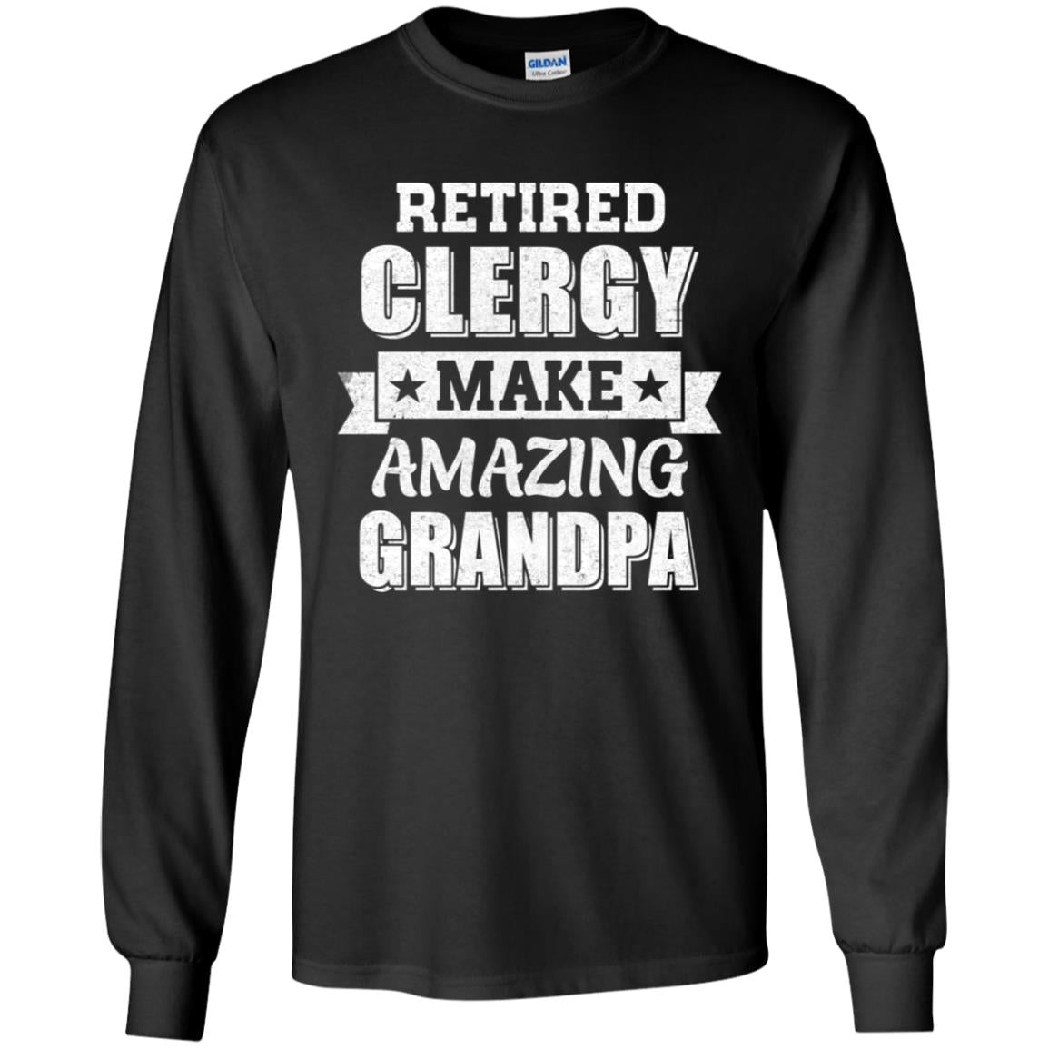 Funny Retired Clergy Make Amazing Grandpa Gifts