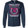 Proud Wife Of An Awesome Carpenter T-Shirt & Hoodie | Teecentury.com