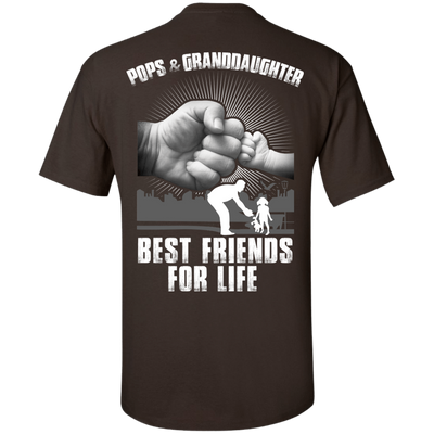 Pops And Granddaughter Best Friends For Life T-Shirt & Hoodie | Teecentury.com