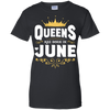 Queens Are Born In June T-Shirt & Hoodie | Teecentury.com