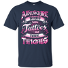 Awesome Moms Have Tattoos And Thick Thighs T-Shirt & Tank Top | Teecentury.com