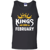 Kings Are Born In February T-Shirt & Hoodie | Teecentury.com