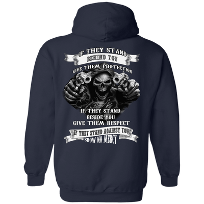 If They Stand behind you T-Shirt & Hoodie | Teecentury.com