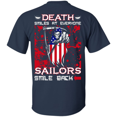 Death Smiles At Everyone Sailors Smile Back T-Shirt & Hoodie | Teecentury.com