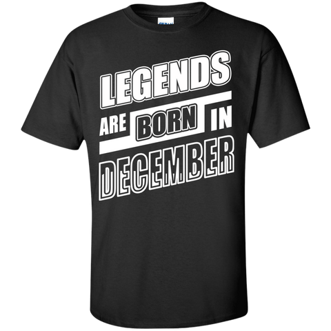 Legends are born in DECEMBER T-Shirt & Hoodie | Teecentury.com