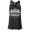 Queens Are Born In February T-Shirt & Hoodie | Teecentury.com