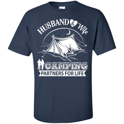Husband And Wife Camping Partners For Life T-Shirt & Hoodie | Teecentury.com