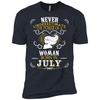 A Woman Born In JULY T-Shirt & Hoodie | Teecentury.com