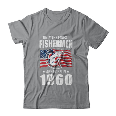 Papa Grandpa Fishing Fisherman 1960 60th Birthday Gift T-Shirt & Hoodie | Teecentury.com