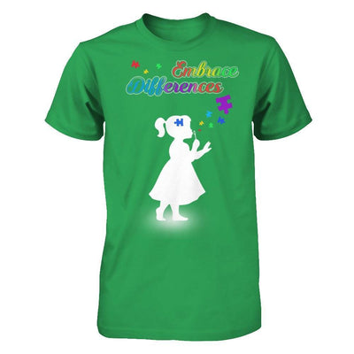 Autism Awareness Embrace Differences T-Shirt & Hoodie | Teecentury.com