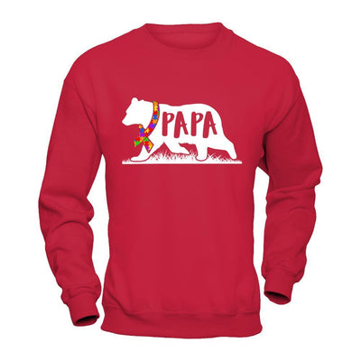 Autism Awareness Papa Bear T-Shirt & Hoodie | Teecentury.com