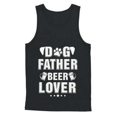 Dog Father Beer Lover Best Dog Dad Fathers Day T-Shirt & Hoodie | Teecentury.com