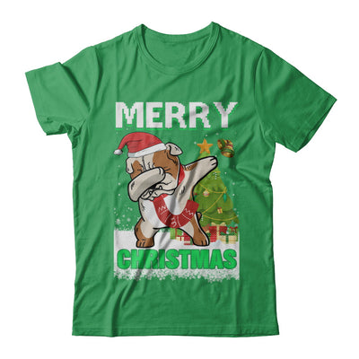Cute Bulldog Claus Merry Christmas Ugly Sweater T-Shirt & Sweatshirt | Teecentury.com