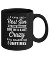 I Have The Best Son In The World Dad Fathers Day Mug Coffee Mug | Teecentury.com