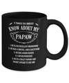 5 Things You Should Know About My Papaw Granddaughter Mug Coffee Mug | Teecentury.com