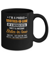 I'm A Proud Brother-In-Law Of A Wonderful Sweet Sister-In-Law Mug Coffee Mug | Teecentury.com