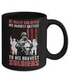 God Gives His Hardest Battles To His Strongest Warrior Mug Coffee Mug | Teecentury.com
