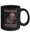 Dachshund Christmas Ugly Sweater Lights Dog Xmas Gift Mug Coffee Mug | Teecentury.com