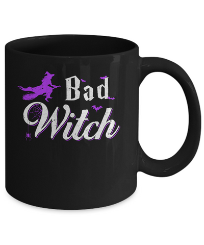 Bad Witch Halloween Mug Coffee Mug | Teecentury.com