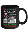Hohoho Element Of Santa Chemistry Christmas Mug Coffee Mug | Teecentury.com