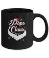 Santa Beard Matching Christmas Pajamas Pops Claus Mug Coffee Mug | Teecentury.com
