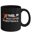 MILF Man I Love Football Mug Coffee Mug | Teecentury.com