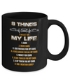 08 Things I Want In My Life Car Drift Mug Coffee Mug | Teecentury.com