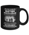 Freaking Awesome Sister She Was Born In April Brother Mug Coffee Mug | Teecentury.com