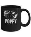 #1 Poppy Fishing Fisherman Best Fathers Day Gift Mug Coffee Mug | Teecentury.com