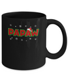 Papaw Christmas Santa Ugly Sweater Gift Mug Coffee Mug | Teecentury.com
